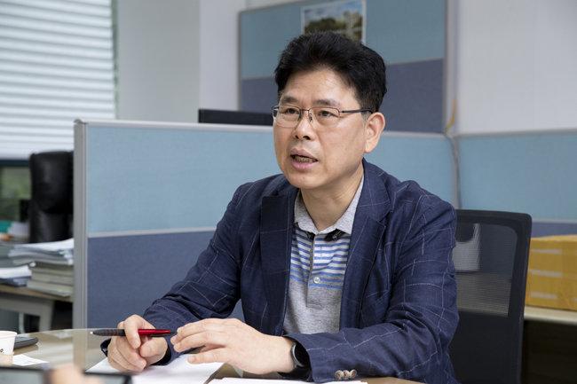 소대섭 한서대 항공보안시스템학과 교수. [지호영 기자]