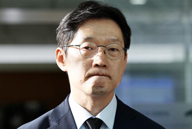 댓글을 통한 여론조작 공모 혐의를 받고 있는 김경수 경남도지사. [뉴스1]