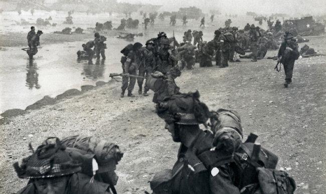 1944년 노르망디 상륙작전. [미국국립문서기록관리청]