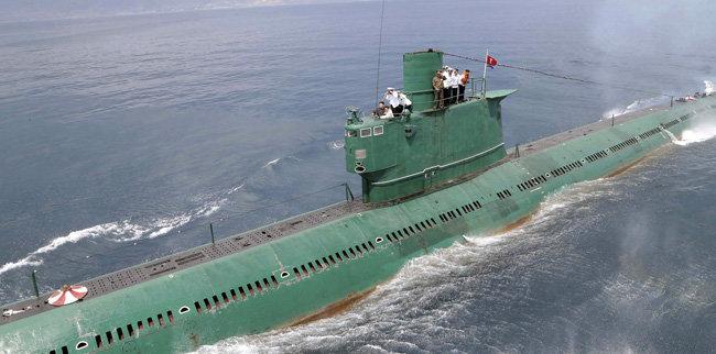 북한이 보유한 로미오급 잠수함