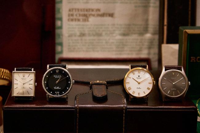 ROLEX CELLINI 클래식 시계 컬렉션.