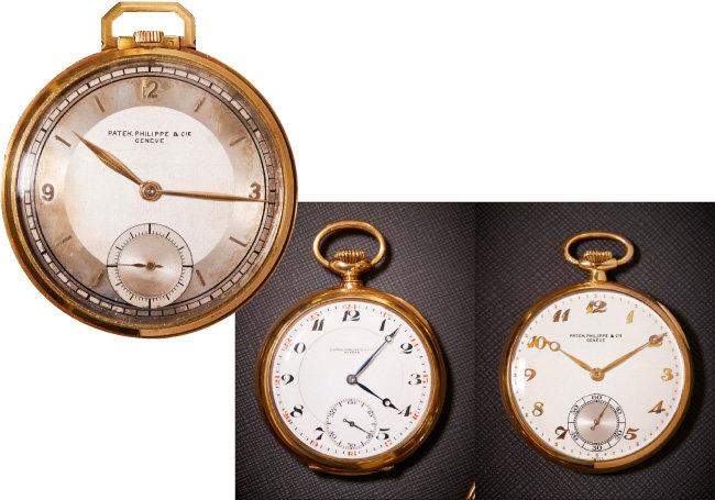 PATEK PHILIPPE이 1920년대 생산한 회중시계.