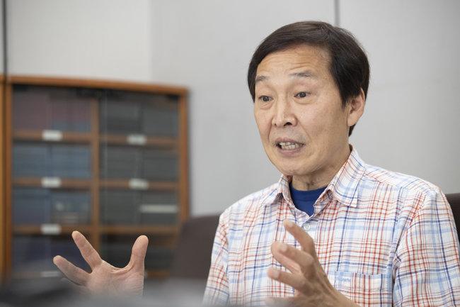 김기웅 전 통일부 남북회담본부장. [지호영 기자]