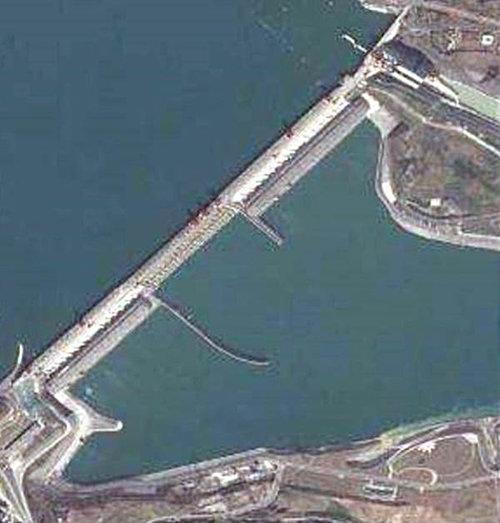 싼샤댐은 흔히 양쯔강이라고 하는 창강에 건설됐다. [중국 바이두]