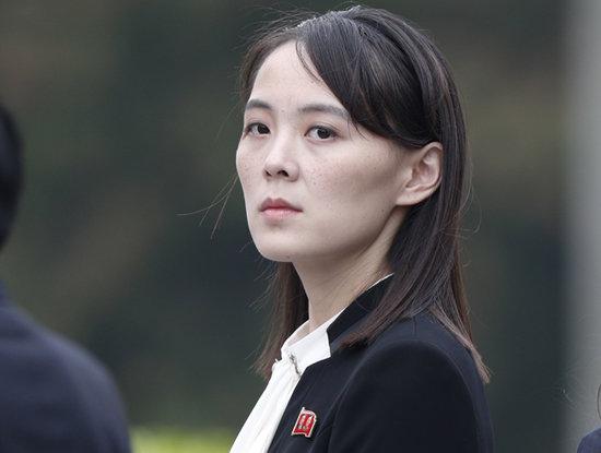 김여정 북한 노동당 제1부부장. [뉴시스]