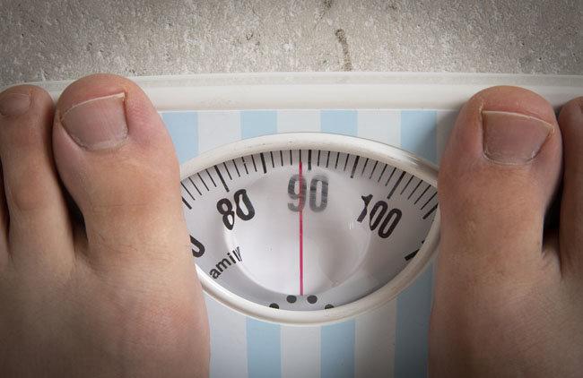 8월 18일 측정한 이현준 기자의 몸무게. [박해윤 기자]