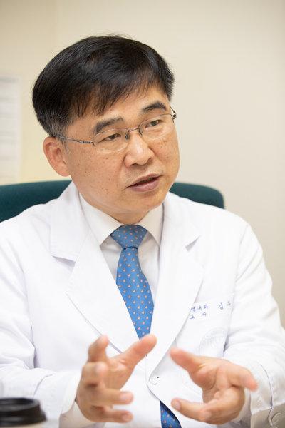 김우주 고려대구로병원 감염내과 교수. [지호영 기자]