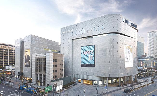 1984년 문을 연 서울 영등포구 신세계 영등포점은 36년 만에 신세계 타임스퀘어점으로 점포명을 변경했다. [동아DB]