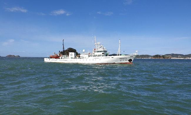 북한군에 살해된 해양수산부 공무원 이모(47) 씨가 탑승했던 어업지도선 '무궁화 10호'. [해양경찰청 제공]
