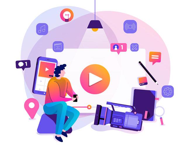 유튜브가 수익 창출 수단으로 떠오르면서 연인, 친구, 선후배가 유튜브채널을 함께 운영하는 사례가 늘고 있다. [GettyImage]