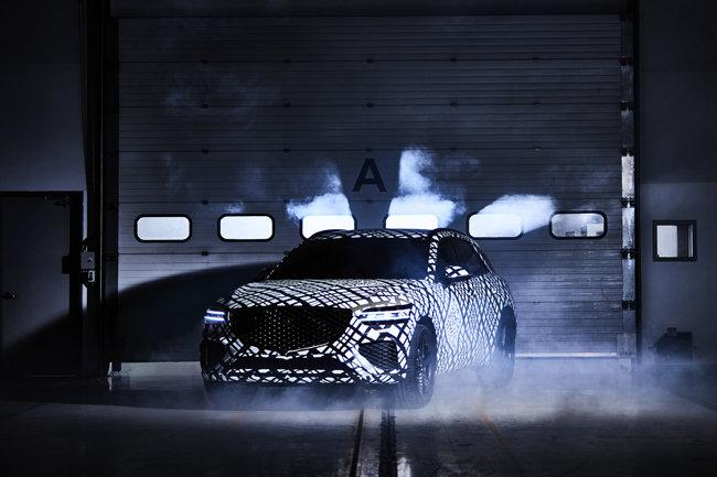 현대자동차가 10월 29일 공개한 GV70. [현대자동차 제공]