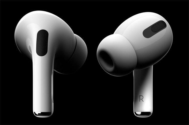 에어팟 프로는 애플이 출시한 무선 커널형 이어폰이다. [애플 공식 홈페이지 캡처]