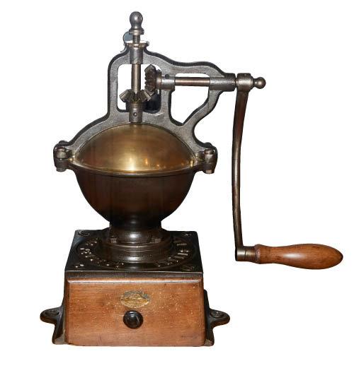 푸조(Feugeot) 테이블 커피 그라인더. 1880년대 제품.
