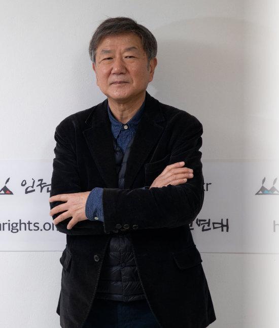 홍세화 장발장은행 은행장. [조영철 기자]
