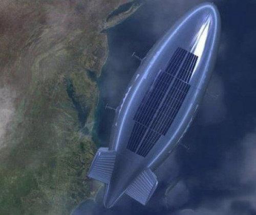 중국이 공중 기반 레이더를 탑재하기 위해 개발한 위안멍 비행선. [오리엔탈 데일리 뉴스 홈페이지]