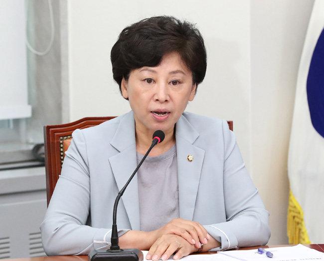 한국여성단체연합 공동대표를 지낸 남인순 더불어민주당 의원. [김재명 동아일보 기자]