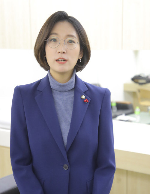장혜영 정의당 의원. [원대연 기자]