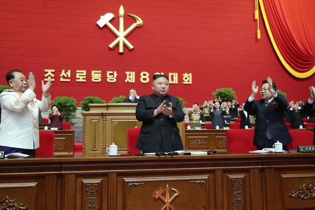 1월 11일 북한 노동당 기관지 노동신문은 김정은 국무위원장이 제8차 노동당 대회를 통해 당 '총비서'로 추대됐다고 보도했다. [평양 노동신문=뉴스1]
