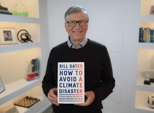 마이크로소프트(MS) 창업자인 빌 게이츠가 최근 '빌 게이츠, 기후재앙을 피하는 법'(원제: How to Avoid a Climate Disaster)을 펴냈다. [빌 게이츠 공식 페이스북]