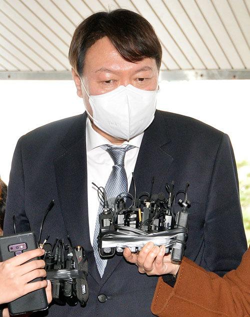 3월 3일 대구지검을 방문한 윤석열 검찰총장. [뉴시스]