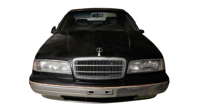 대우자동차가 1987년 생산한 고급 승용차 '로얄 살롱'.