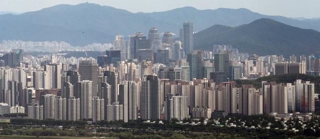 서울 서초구 아파트 단지. [뉴스1]