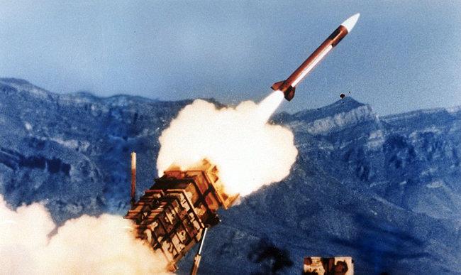 1991년 걸프전에서 위력을 과시한 패트리어트 미사일. [미국방부 제공]