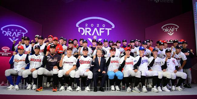 2019년 8월 26일 서울 웨스틴조선호텔에서 열린 2020 KBO 신인드래프트. [동아DB]