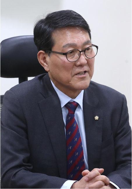 수도권매립지관리공사 사장 공모에 지원한 신창현 전 더불어민주당 의원. [뉴스1]