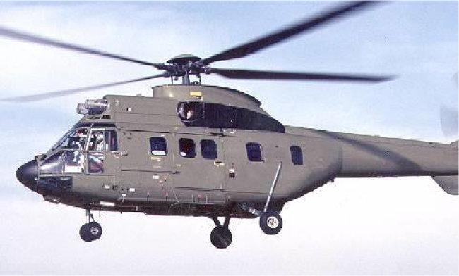 수리온 설계 원형인 기동헬기 '에어버스헬리콥터스(AH)'의 AS532 쿠거. [동아DB]