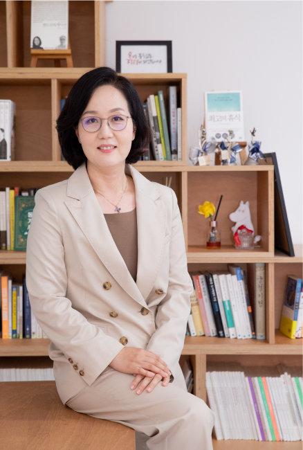 """김현아 전 의원은 """"정부의 지나친 시장 개입이 많은 부작용을 낳고 있다""""고 비판했다. [지호영 기자]"""