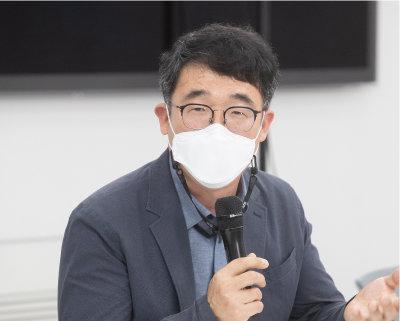 박종서 (사)한국친환경농업협회 사무총장. [지호영 기자]