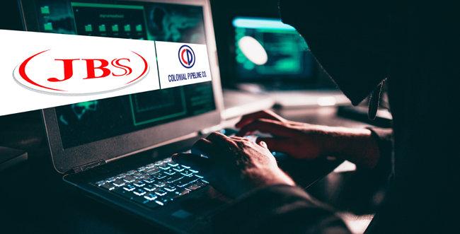 5월 6일과 30일, 송유관 업체 콜로니얼 파이프라인과 정육 기업 JBS가 각각 랜섬웨어 공격을 당해 큰 피해를 봤다. [GettyImage]