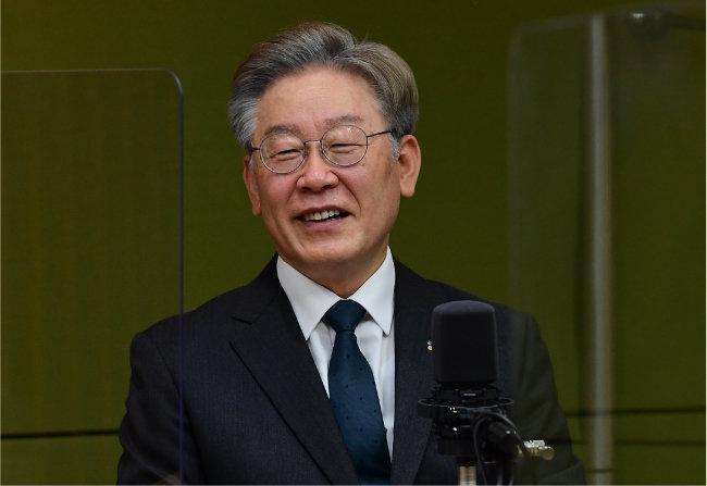더불어민주당 대선 후보인 이재명 경기도지사. [국회사진기자단]