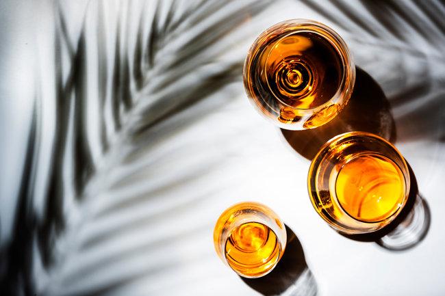 '오드비'는 발효액을 증류해 만든 술의 통칭이다. 포도주로 만든 브랜디는 대표적인 오드비다. [GettyImage]