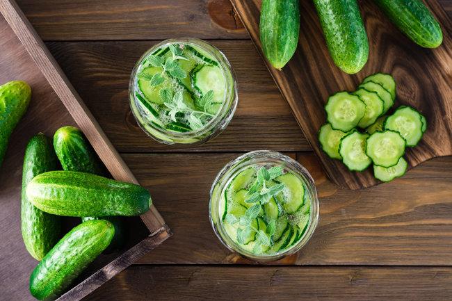 생기 넘치는 수분과 신선한 향을 가진 오이는 여름에 특히 더 맛있는 식재료다. [GettyImage]