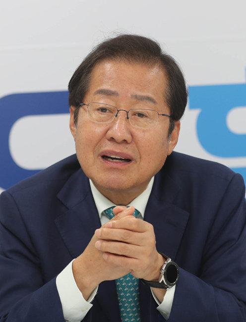 홍준표 국민의힘 대선 후보. [동아DB]