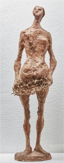 최만린의 대표작 중 하나인 조각 '이브 58-1'. 현재는 성북구 최만린미술관이 소장하고 있다. [성북구립미술관 제공]