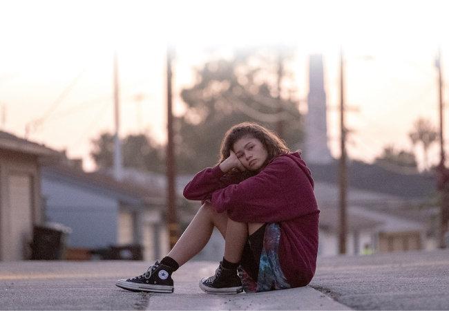 '유포리아'는 방황하는 미국 10대들을 소재로한 청춘 드라마다. [웨이브 제공]