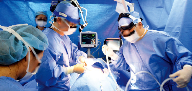 수술이 많은 외과 병동에서 전공의 폭행 사건이 일어나는 경우가 많다. 사진은 기사 내용과 관계없음.[뉴스1]