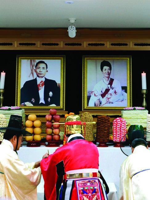 11월 14일 박정희 전 대통령 탄생 100돌 기념식이 경북 구미 생가에서 열렸다.[박해윤 기자]