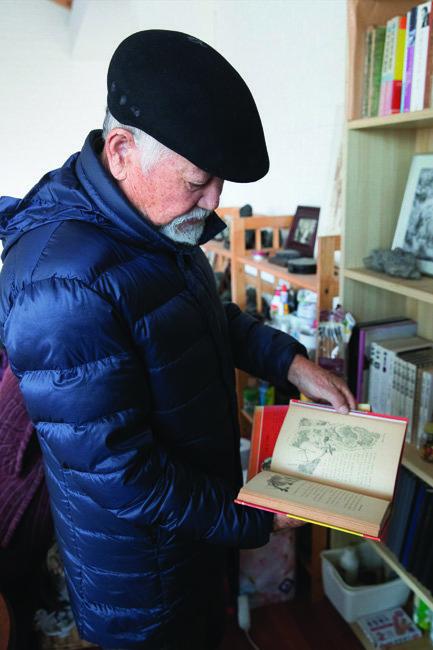 김종신 전 청와대 비서관은 가까이에서 지켜본 박정희 전 대통령의 모습을 기록한 책을 다수 펴냈다.[지호영 기자]