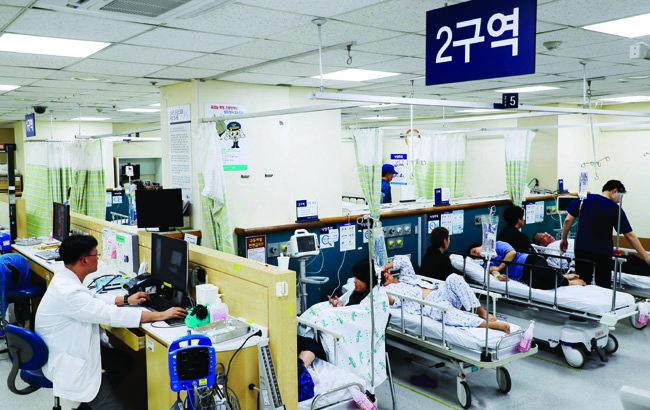 서울 한 병원의 응급실 모습. 사진은 기사 내용과 관계없음.[동아DB]