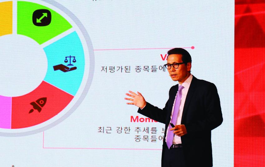 10월 18일 배재규 삼성자산운용 운용총괄 부사장은 서울 여의도 콘래드서울호텔에서 코덱스(KODEX) ETF 상장 15주년 기념행사를 갖고 '2022년 순자산 30조 달성 비전'을 발표했다.[사진제공·삼성자산운용]