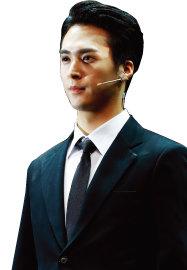 뮤지컬 '모래시계'에서 백재희 역을 맡은 아이돌그룹 하이라이트의 손동운. [박해윤 기자]