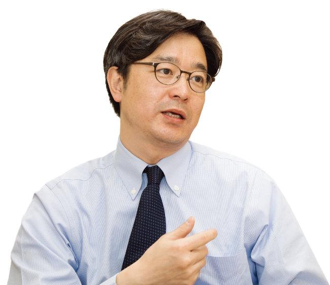 김한석 서울대병원 어린이병원 신생아중환자실장. [조영철 기자]
