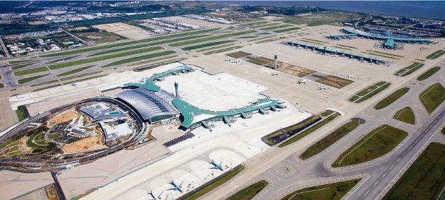 2018년 1월부터 연간 1800만 명의 승객이 이용할 인천국제공항 제2여객터미널 전경. [사진 제공·인천국제공항공사]
