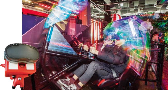 인천 송도에 자리한 VR 테마파크 '몬스터VR