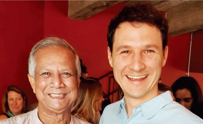 리플 대표 개발자인 제드 맥캘럽(오른쪽). 퇴사 후 2014년 새로운 가상화폐 스텔라루멘을 개발했다. [스텔라재단 : 공식 홈페이지]