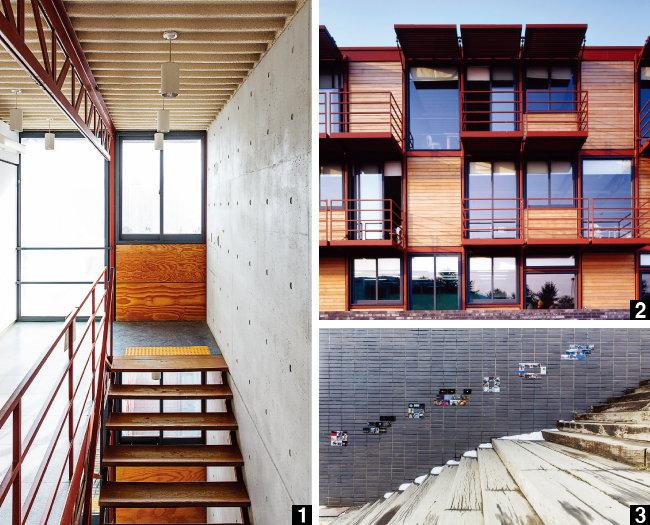 건축의 피와 살, 뼈를 보여주는 '살아 있는 교자재'를 꿈꾸다